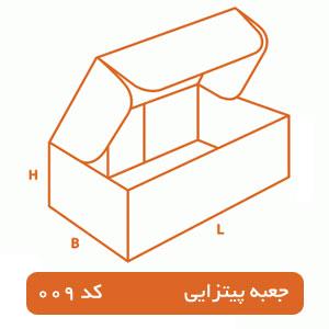 جعبه پیتزایی